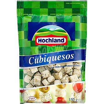 HOCHLAND Cubiquesos Queso con hierbas provenzales en dados Bolsa 150 g