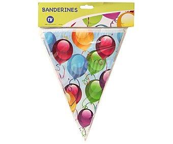 Nv corporacion Guirnalda con 11 banderines diseño globos 1 Unidad
