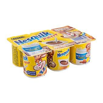 Nesquik Nestlé Petit de chocolate Pack 6 u x 60 g