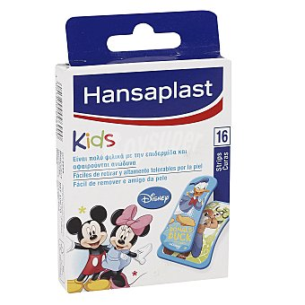 Hansaplast Ápositos mickey&friends Pack 16 unid