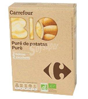 Carrefour Bio Pure de patatas Pack de 2x125 g