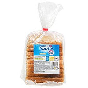EROSKI Sannia Pan de molde multicereal paquete 450 g
