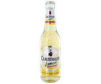 Clausthaler Cerveza alemana sin alcohol con sabor a limón Botella 33 cl