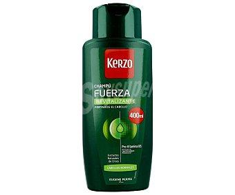 Kerzo Champú revitalizante Fuerza para cabellos normales Frasco 400 ml