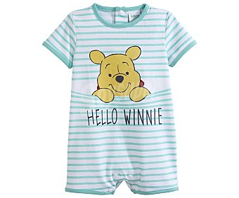DISNEY Winnie the Pooh Pelele corto para bebé talla 68.