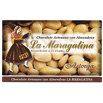 LA MARAGATINA Chocolate con almendras Tableta 250 g