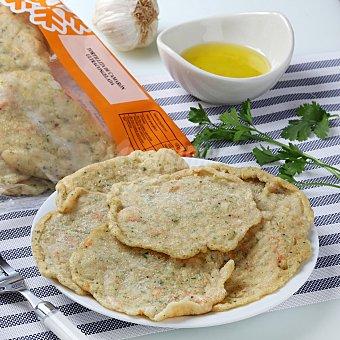 Carrefour Tortilla de camaron congelada Bandeja de 350 g