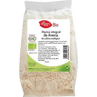 EL GRANERO INTEGRAL Bio harina de avena integral ecologica  envase 500 g