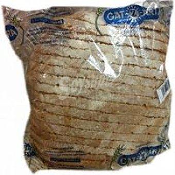 Gatzara Pan Payés moreno cortado 750 g