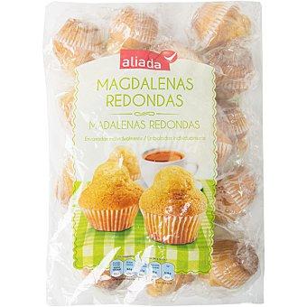 ALIADA Magdalenas redondas envasadas individualmente  envase 350 g