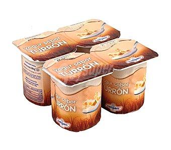 Celgan Yogur sabor Turrón 4 Unidades de 125 Gramos