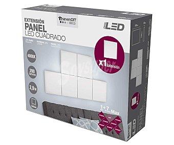 SEVENON Led panel cuadrado 2,9W 150mm, sevenon