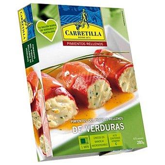 Carretilla Pimientos del piquillo rellenos de verduras Estuche 280 g