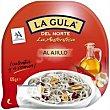 Gula del norte al ajillo bandeja 125 g Angulas Aguinaga