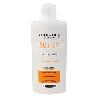 Les Cosmétiques Leche solar para piel sensible SP 50+ Dermato Science 200 ml