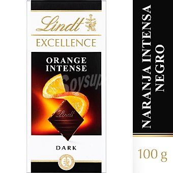 Lindt Excellence chocolate negro con naranja Tableta 100 gr