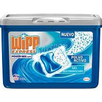 WIPP Detergente en cápsulas gel+polvo Power-Mix 22 dosis