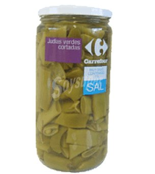 Carrefour Judia verde sin sal 355 g