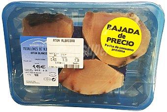 Unión Martín Atún albacora fresco rodaja Bandeja 400 g peso aprox.