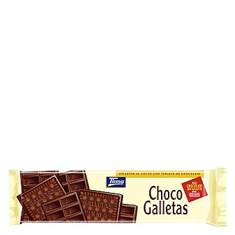 Tirma Galletas al cacao con tableta de chocolate 160 g
