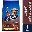 Tenderissimo alimento para perros mini con buey Bolsa 1 kg Brekkies Affinity