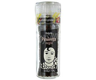 Carmencita Pimienta Negra en Molinillo Tarro 50 Gramos
