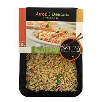 Carrefour Arroz tres Delicias Bandeja de 350 g