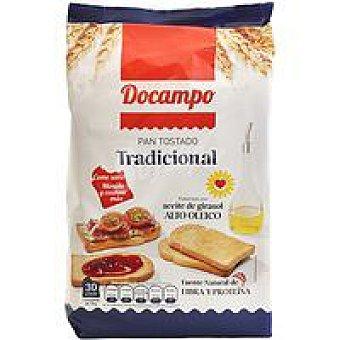 DOCAMPO Pan tostado clásico tradicional Paquete 270 g