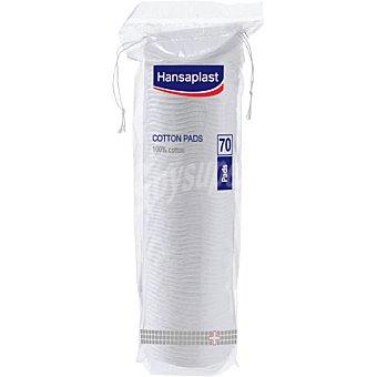 Hansaplast Discos cuadrados doble cara Bolsa 70 unidades