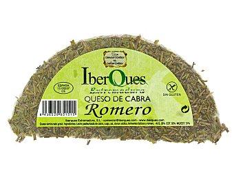 IBERQUES Queso de cabra semicurado al romero de Extremadura 450 gramos