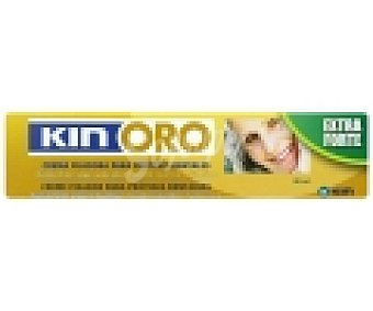 KIN Oro Crema adhesiva para prótesis dentaria 40 Mililitros