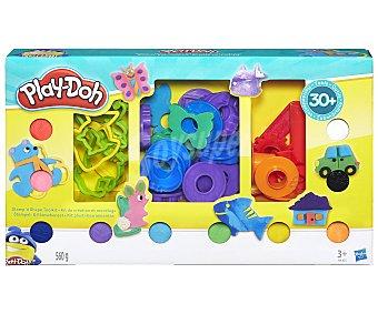 Playdoh Set de plastilina con 30 accesorios más 10 botes de pasta para moldear, play-doh