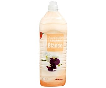 Auchan Suavizante concentrado blanco 80 Dosis