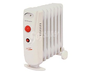 ORBEGOZO RO1010C Radiador aceite mini, potencia max: 1000w, 7 elementos, termostato