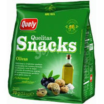 Quely Snack de olivas Bolsa 70 g