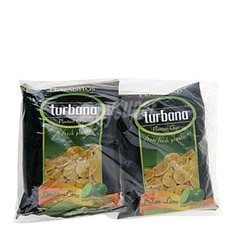 Turbana Platanitos limón Pack de 2x95 g