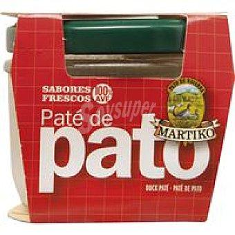 Martiko Paté de pato Frasco 100 g