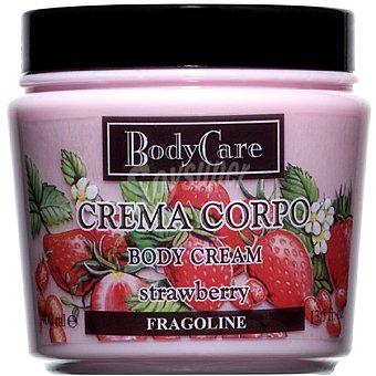 BODYCARE Crema corporal Strawberry Tarro 400 ml