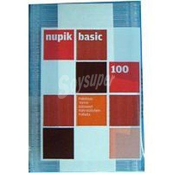 Nupik Paletina transparente Paquete 100 unid