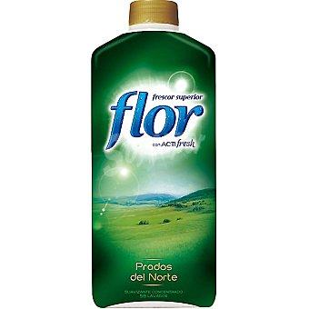 Flor Suavizante concentrado con acti fresh Prados del Norte Botella 56 dosis