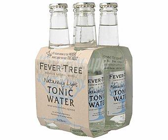 Fever Tree Tónica light pack 4 botellas 20 cl