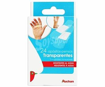 Auchan Apósitos Transparentes 24 Unidades