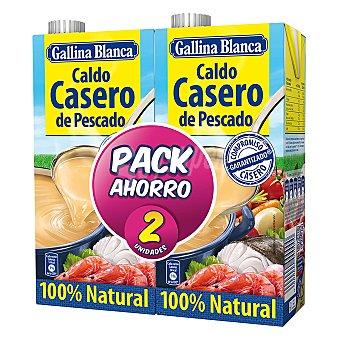 Gallina Blanca Caldo de pescado Pack 2 x 1 litro