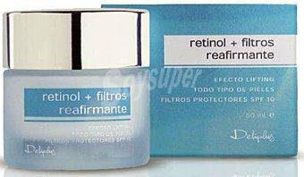 Deliplus Crema facial reafirmante con retinol (efecto lifting) Tarro 50 cc