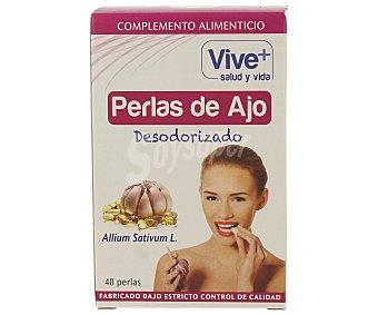 Viveplus Perlas de ajo 48 unidades
