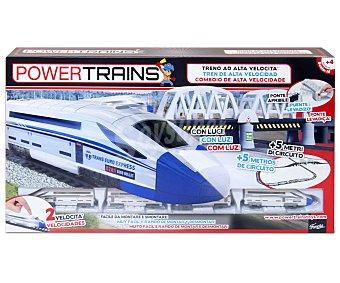 FAMOSA Circuito Tren Alta Velocidad 1 Unidad