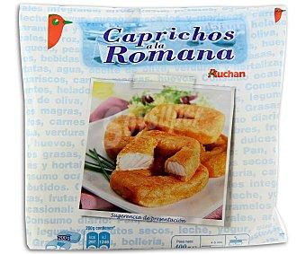 Auchan Rodaja de merluza rebozada 320 gramos