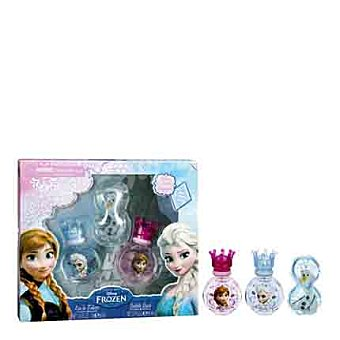Disney Frozen Estuche 2 colonias spray 30 ml. + gel de baño 80 ml.  1 ud