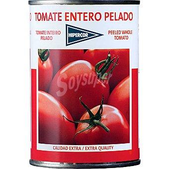 Hipercor Tomate entero pelado Lata 240 g neto escurrido
