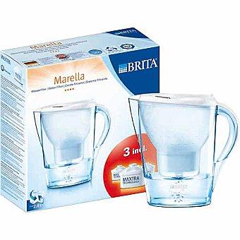 Brita Marella jarra de filtro con 3 recambios en color blanco 24 l